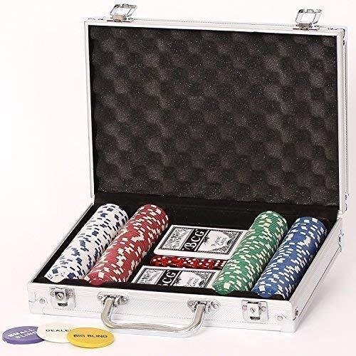 Poker Set 200er 11.5 Gramm Chips Pokerset Koffer Starkid 68157# 980004