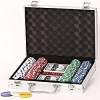 Poker Set 200er 11.5 Gramm Chips Pokerset Koffer Starkid 68157# 980004