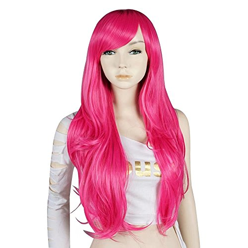 Estyle Fashion 28 Inches Lang Gewellt Mode Cosplay -