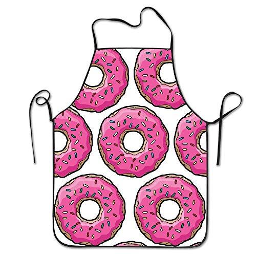 Helen.KOCO Unisex Pink Simpsons Donut Restaurant Home
