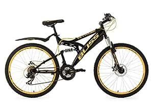 """KS Cycling Bliss VTT tout suspendu Noir 26"""" 47 cm"""