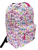 Damen-/Herren-Rucksack 4055 birds and leaves 20 l