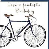 Glückwunschkarte zum Geburtstag im eleganten Belly Button Design mit Prägung und Folienauflage in Silber, veredelt mit ausgewählten Kristallen. BB280