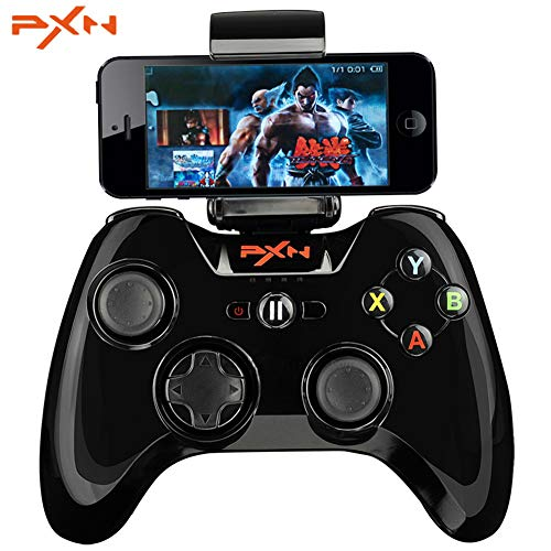 PXN MFi Certified 6603 Gamepad Controller Bluetooth Game Joystick Kompatibel mit IOS iPhone/iPad/Apple TV (Black)