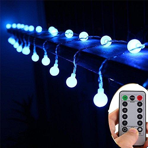 50 LED Lichterkette, dimmbar mit Fernbedienung und 8 Modi