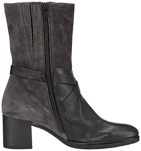 Gabor Shoes Damen Comfort Sport Stiefel, Schwarz (Schw/Dkgreymicro), 43 EU - 6