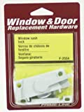 Prime-Line Products F 2554 Window Sash Lock with Cam Action and Alignment Lugs, White Diecast by Prime-Line Products