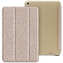 PREVOA® 丨 Flip PU Funda Cover Case Protictive Carcasa para XIAOMI MiPad 2 7,9-pulgadas con la function - Oro