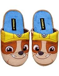 Nickelodeon - Zapatillas de estar por casa de Material Sintético para niño