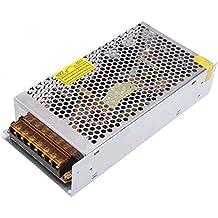 Alimentador tira LED, transformador estabilizado (voltaje: 220 V, 12V, 10A, potencia: 120 W)