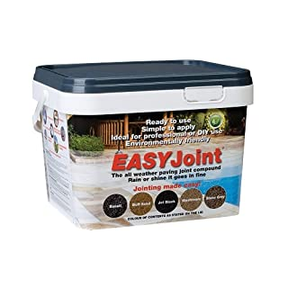 Patio Jointing Grout Paving Mortar Basalt Easy Joint 12.5 Kilo Paving Compound