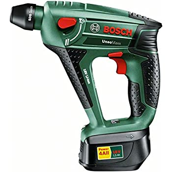 Bosch DIY Akku-Bohrhammer Uneo Maxx, Akku, Ladegerät, 2