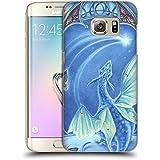Officiel Meredith Dillman Dragon Fantaisie Étui Coque D'Arrière Rigide Pour Samsung Galaxy S7 edge