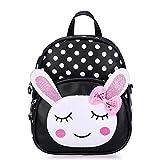 Kinderrucksack Bunny Babyrucksack Schule Tasche Rucksack for Kinder Baby Jungen Mädchen Kleinkind