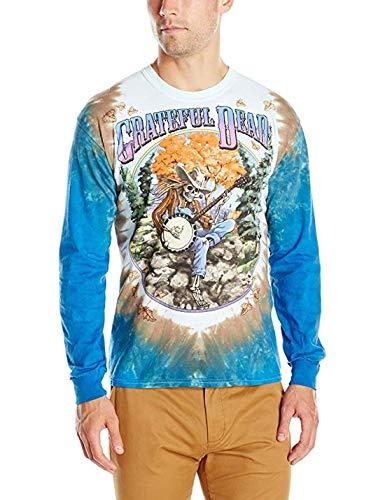 Grateful Dead Banjo Long Sleeve Tie-Dye T-Shirt