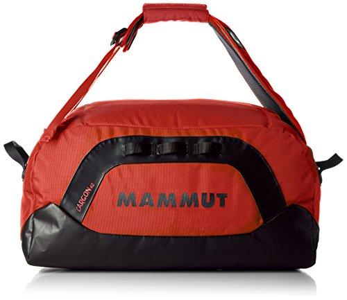 Mammut Sacca impermeabile , Nero (Black Fire), 140 Liter Rosso (Poppy-Black)