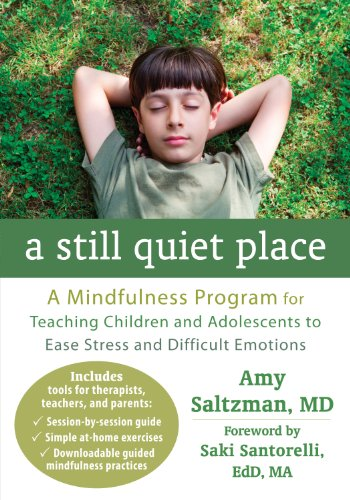 A Still Quiet Place: A Mindfulness Program for Teaching Children and Adolescents to Ease Stress and Difficult Emotions por Amy Saltzman