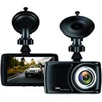 "Dash Cam 3.5"" Car camera - BUIEJDOG Car Camcorder 1080P LCD Display Recorder with 170 Degree Viewing Angles Built-in G-Sensor Night Vision Recording Loop Recording and Parking Monitoring"