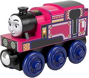 Thomas and Friends Tren de Juguete Ashima de Madera, Juguetes para Niños +2 Años (Mattel GGG33)