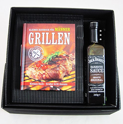 Price comparison product image Mini grill Book Set with 260g BBQ Sauce In Gift Box