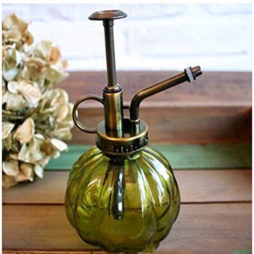 YJSMXYD Gießkanne Vintage Glas stilvolle und langlebige Bewässerung Multicolor Dosen Garten Wasser kann Garten Dekoration s grün 7 x 9 x 16 cm Innenreinigung Gartenbewässerung Werkzeug