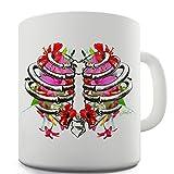 TWISTED ENVY Taza de cerámica diseño