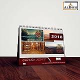 #8: Calendar 2018 | 2018 calendar | Table calendar 2018 | Desk calendar 2018 ALDIVO Desk Calendar Calendar 2018 Table calendar 2018 with (Size 18 cm x 17 cm)