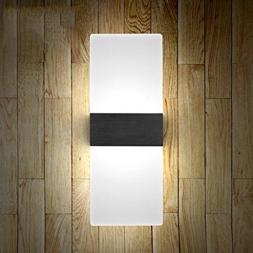 Lampe de mur Chambre à coucher Lampe de chevet Balcon Salon Escaliers Lumières (couleur : D)