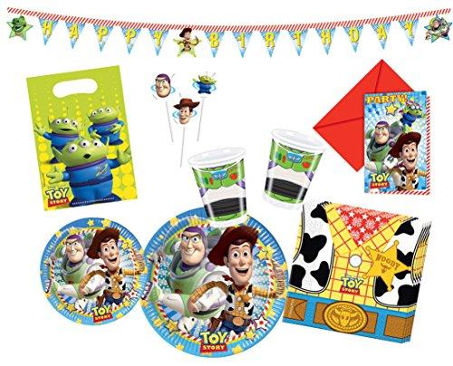 Procos 10115977 - Partyset Toy Story, XL (Toy De Story Set)