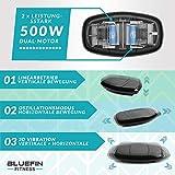 Bluefin Fitness 3D Dual-Motor Vibrationsplatte | Oszillation und Vibration | Ultimatives Fitnessgerät für Fettabbau und Gewichtsreduzierung - 2