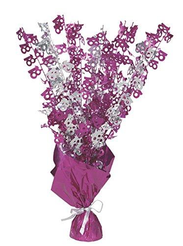 Unique  Party 56475 - Glitz Pink 18. Geburtstag Ballon-Herzstück (Herzstück Ideen Geburtstag Mädchen)
