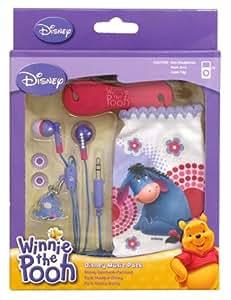 Disney Bourriquet Audio pour écouteurs, chaussette pour mp3, pour câble