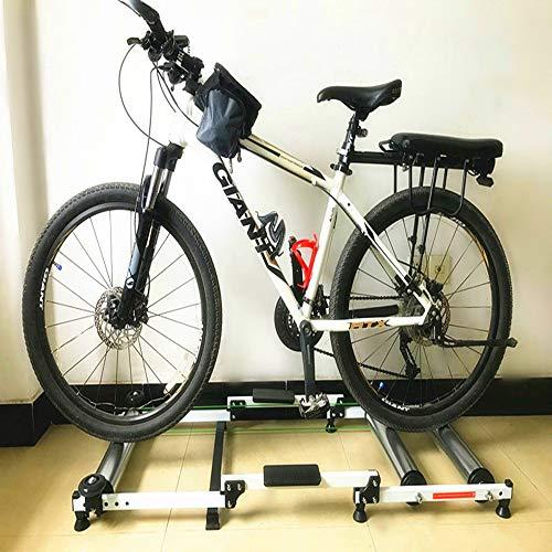 PiPisun-Bicycle Fahrradtrainer Ständer Fahrradtrainer MTB Rennrad Trainingsstation faltbar Indoor Fahrrad Roller Trainer -