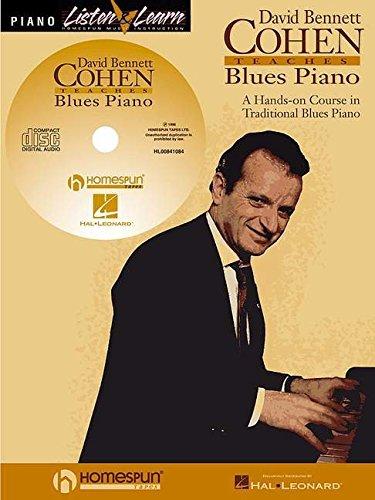 David Bennett Cohen Teaches Blues Piano (Listen & Learn)
