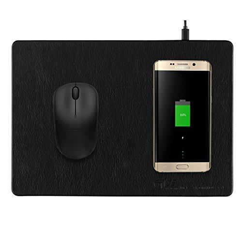 JE ratón para Videojuegos/Alfombrilla con Qi Cargador inalámbrico para Samsung Galaxy Note...