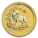 Goldmünze LUNAR II Serie - prägefrisch - einzeln in Münzkapsel verpackt (1/20oz (2018))
