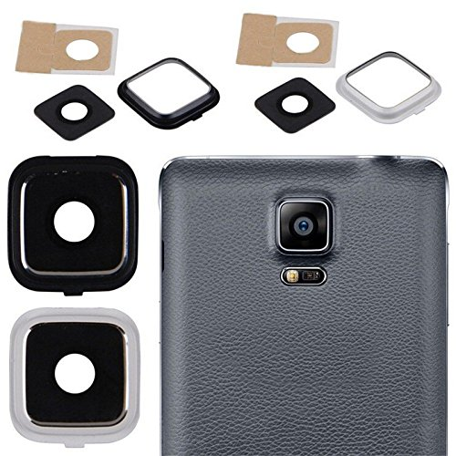 Generic Camera Glass Lens Cover Frame Holder for Samsung Galaxy Note 4