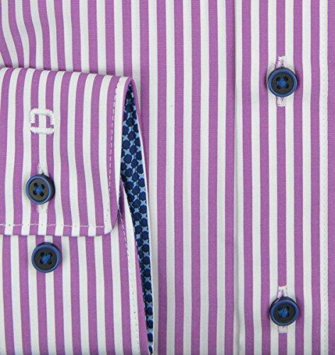 OLYMP -  Camicia classiche  - Con bottoni  - Uomo Fucsia