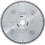 """Lame de scie à onglets et radiale - """"Multi cut"""" Lame de scie circulaire HW/CT 216 x 30, 60 FZ/TZ, 5° nég"""