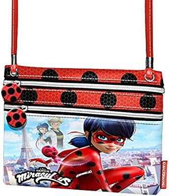 Ladybug Marinette - Bolso Bandolera Action Mini H. - Karactermania