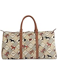 Signare Tapestry Women Big Holdall Weekender Luggage Bag Horse Equestrian  Sport (BHOLD-EQST) 42acfbd646c99