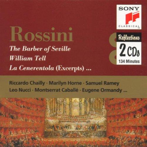 Rossini, Intégrale des Ouvertures : La Pie voleuse, le Barbier de Séville, Guillaume Tell : CLA 1860