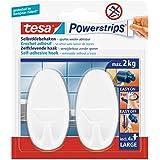 TESA-System-Haken oval weiß