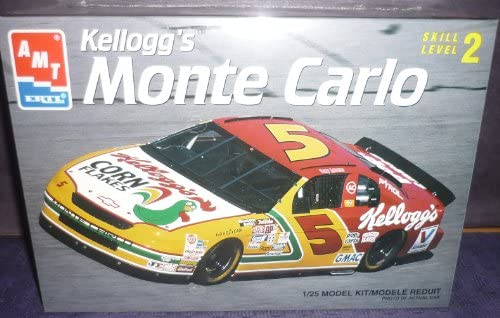 8187 AMT/Ertl AMT/Ertl AMT/Ertl Terry Labonte 5 Kellogg's Monte Carlo 1/25 Scale Plastic Model Kit,Needs Assembly by The ERTL Company 509a34