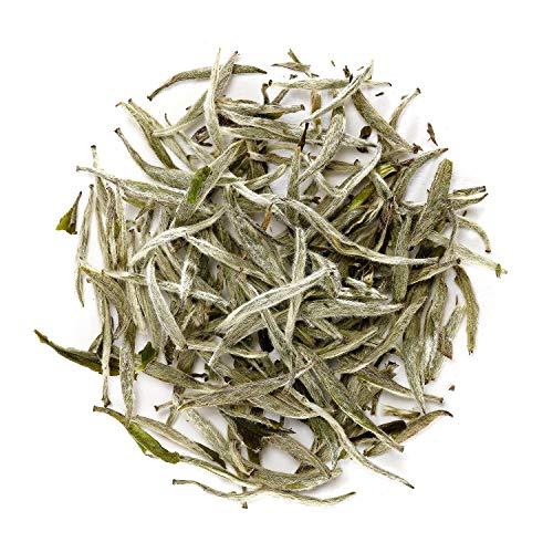 Silver Needle Weißer Tee - Weisser Silbernadel Tee China - Chinese Bai Hao Yin Zhen - Baihao Yinzhen 100g -