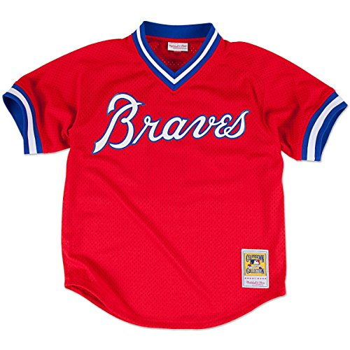 Dale Murphy Atlanta Braves Mitchell & Ness Authentic 1980 Batting Pratice Jersey
