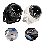 Multi-Purpose Waterproof Compass Sea Marine Bracket Mount Voyager Compass Hiking and Camping Fits Boat Caravan Truck…