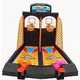 Oplon Niños 2Jugadores de sobremesa clásico Arcade Baloncesto Tiro Parte Juguete Juego de Pelota Juegos
