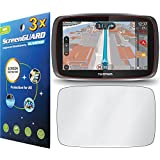 "GuarmorShield 3x Tomtom Go 510 500 5000 5"" GPS Premium Clear LCD Screen Protector Guard Cover Film Kits (NO Cutting, Package by GUARMOR)"
