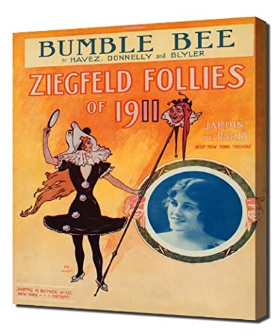 Ziegfeld Sheet Music - Ziegfeld Follies of 1911 (Bumble Bee) - Impression Sur Toile